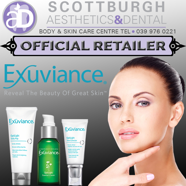Official retailers of Exuviance beauty products