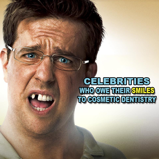 Celebrities with cosmetic dentistry